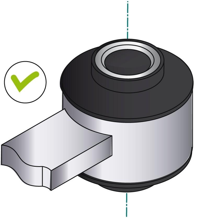 obraz montaż tulei metalowo gumowej 5