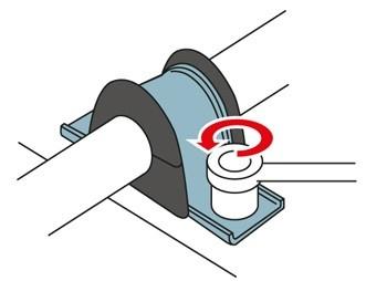 obraz wymiana gumy stabilizatora 1
