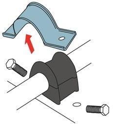 obraz wymiana gumy stabilizatora 2