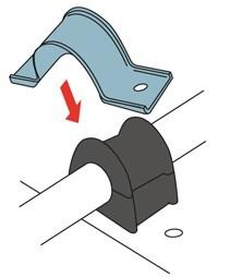 obraz wymiana gumy stabilizatora 6