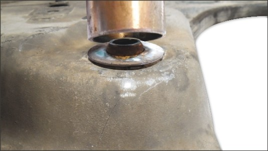 picture manual engine beam Renault 1 - incorrect