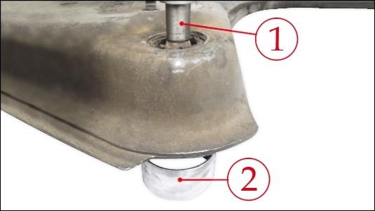 picture manual engine beam Renault 4