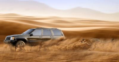 Jeep gran cherokee ZJ + gepard